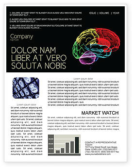 Brain Centers Newsletter Template