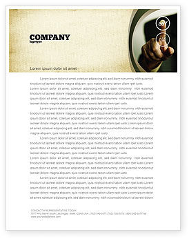 Business Concepts: Yes No Questions Letterhead Template #04992