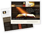 Religious/Spiritual: Holly Book Brochure Template #04995