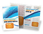 Telecommunication: Modello Brochure - World in cifre #04997