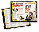 Medical: Smoking Kills Brochure Template #05004