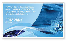 Personal computer wired model business card template layout personal computer wired model business card template wajeb