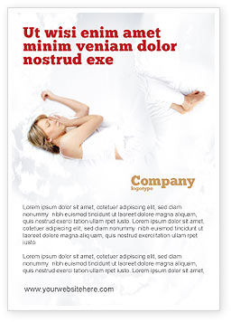 Medical: Bedtime Ad Template #05010