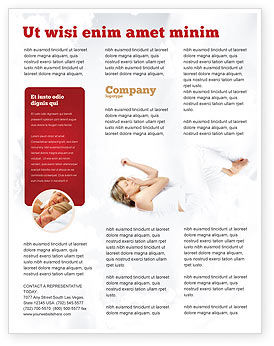 Medical: Bedtime Flyer Template #05010