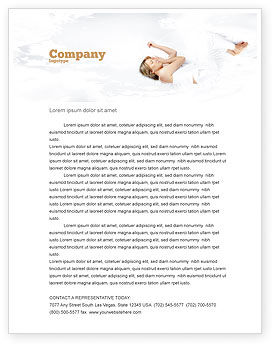 Medical: Bedtime Letterhead Template #05010