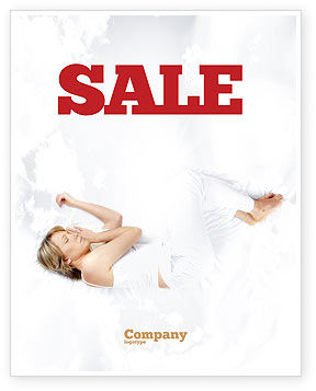 Bedtime Sale Poster Template, 05010, Medical — PoweredTemplate.com