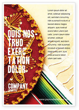Holiday/Special Occasion: Cinco De Mayo Advertentie Template #05012