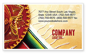 Holiday/Special Occasion: Cinco de Mayo Business Card Template #05012