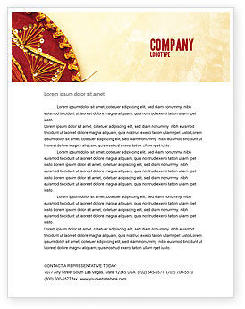 Cinco de Mayo Letterhead Template, 05012, Holiday/Special Occasion — PoweredTemplate.com