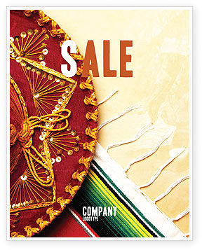 Cinco de Mayo Sale Poster Template, 05012, Holiday/Special Occasion — PoweredTemplate.com