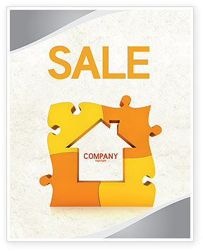 Consulting: Townhouse Planning Sale Poster Template #05014