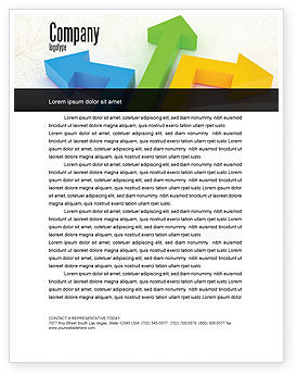 Directions Letterhead Template, 05017, Consulting — PoweredTemplate.com