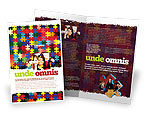 Abstract/Textures: Colorful Puzzle Canvas Brochure Template #05021