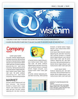 Website Solution Newsletter Template