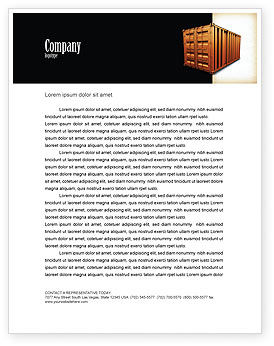 Crisper Letterhead Template, 05038, Cars/Transportation — PoweredTemplate.com