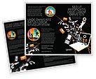 Telecommunication: Modello Brochure - Interazione #05041