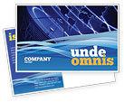 Telecommunication: Rundfunknetz Postkarte Vorlage #05044