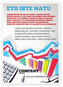 Financial/Accounting: Modèle de Publicité de calcul de l'estimation #05048