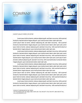 Careers/Industry: Cooking Letterhead Template #05056