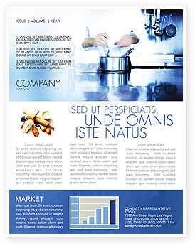 Careers/Industry: Cooking Newsletter Template #05056