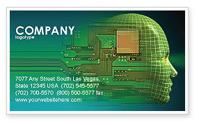High Tech Era Business Card Template