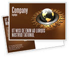 Financial/Accounting: Global Currency Postcard Template #05065