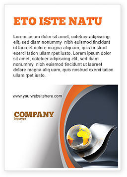 International Ad Template, 05066, Abstract/Textures — PoweredTemplate.com