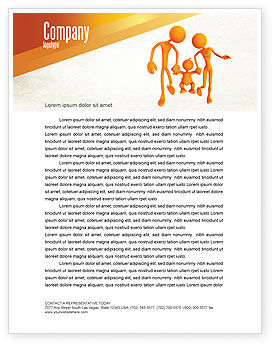 Education & Training: Support Of Parents Letterhead Template #05068