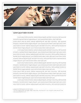 Careers/Industry: Call Center Letterhead Template #05070