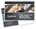 Careers/Industry: Call Center Postcard Template #05070
