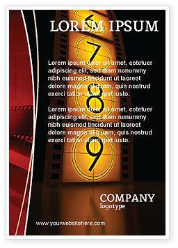 Careers/Industry: Cinema Strip Ad Template #05073