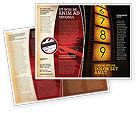 Careers/Industry: Cinema Strip Brochure Template #05073