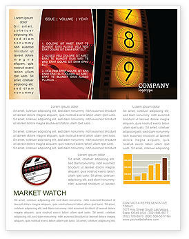 Careers/Industry: Cinema Strip Newsletter Template #05073