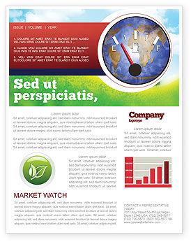 Fuel Meter Newsletter Template
