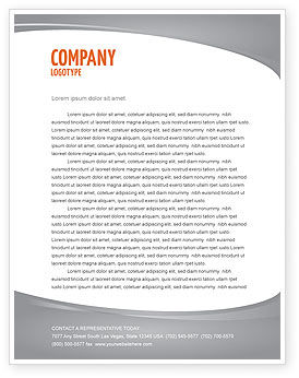 Contradiction Letterhead Template, 05078, Consulting — PoweredTemplate.com