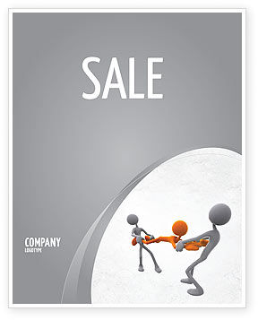 Consulting: Contradiction Sale Poster Template #05078