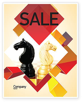 Consulting: Knight Move Sale Poster Template #05089