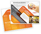 Business Concepts: Puzzel Fixeren Brochure Template #05093