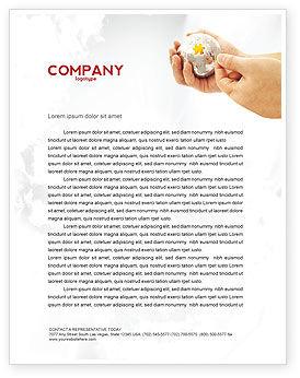Business Concepts: Puzzle Fixing Letterhead Template #05093