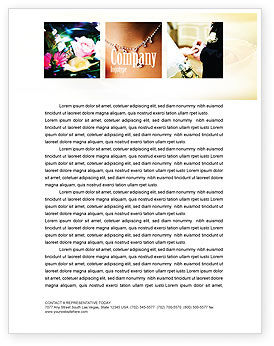 Wedding Letterhead Template, 05101, Holiday/Special Occasion — PoweredTemplate.com