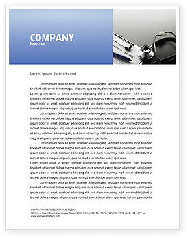 Medical: Medical Record Blank Letterhead Template #05110