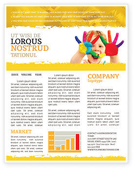 People: Colored Lines Newsletter Template #05112