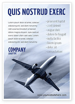 Cars/Transportation: Air Vessel Ad Template #05115