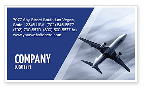 Air Vessel Business Card Template