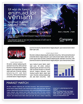 Art & Entertainment: Music Show Newsletter Template #05126