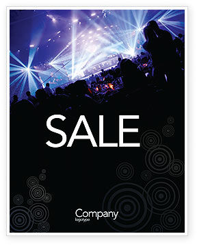 Art & Entertainment: Music Show Sale Poster Template #05126
