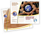 Global: Holding Hands Brochure Template #05147