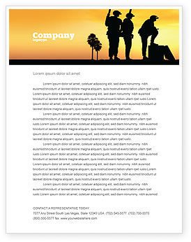Military: Spec Ops Letterhead Template #05148