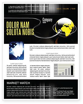 Global: Plugged In Newsletter Template #05153