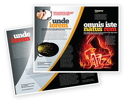 Jazz Brochure Template